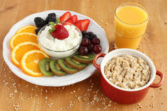 Здоровый завтрак Стоковое фото RF