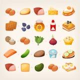 Здоровый завтрак mix_3 иллюстрация вектора