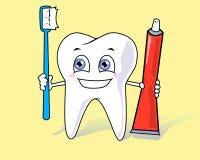 Здоровый зуб Стоковая Фотография RF