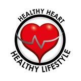 Здоровый дизайн образа жизни Стоковое Изображение RF