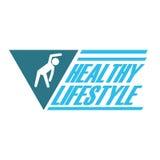 Здоровый дизайн образа жизни Стоковые Фото