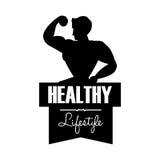 Здоровый дизайн образа жизни Стоковые Фотографии RF
