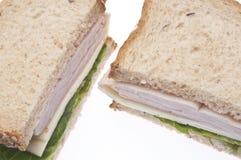 здоровый индюк сандвича Стоковая Фотография RF