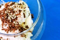 Здоровый и вкусный десерт стоковые фото