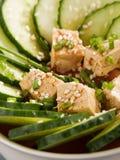 Здоровый китайский салат огурца Стоковые Изображения RF