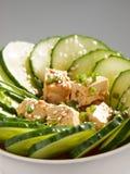 Здоровый китайский салат огурца Стоковое Изображение RF