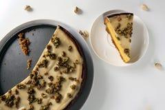 Здоровый красочный десерт Стоковое Изображение