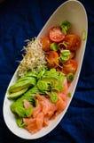 Здоровый крупный план еды Стоковые Изображения RF