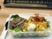 Здоровый обед салата Стоковая Фотография RF