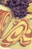 Здоровый отрезанный домодельный хлеб стоковое фото rf