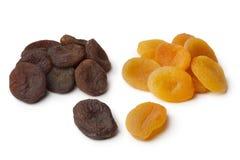 Здоровый плодоовощ коричневых и апельсина высушенного абрикоса Стоковое Фото