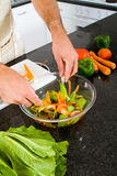 здоровый салат Стоковое фото RF