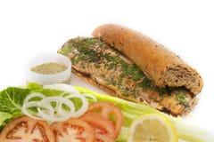 здоровый сандвич Стоковое Изображение RF