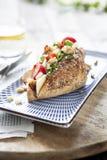 здоровый сандвич Стоковые Изображения