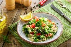 Здоровый салат кускус с овощами Стоковая Фотография RF