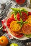 Здоровый салат томата Heirloom Стоковые Изображения RF