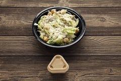 Здоровый салат цезаря цыпленка Стоковая Фотография RF