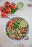 Здоровый салат шара квиноа Стоковое Изображение