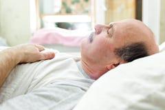 Здоровый сон на ноче Стоковая Фотография RF