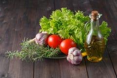 здоровый солнцецвет семени салата ингридиентов Стоковое фото RF