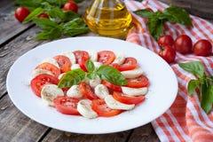Здоровый традиционный итальянский органический вегетарианец Стоковое Изображение
