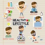 Здоровый уклад жизни Стоковое Изображение RF