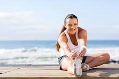 Здоровый фитнес женщины Стоковые Фото