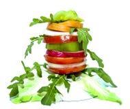 Здоровье завтрака лета коктеиля витамина плодоовощ овощей стоковое фото rf