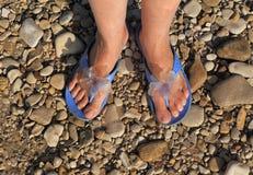 здоровье и чистота на пляже стоковые фото