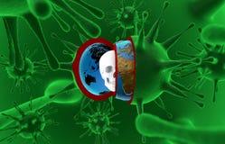 Здоровье, эпидемия, вирус, ebola Стоковая Фотография RF