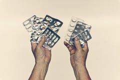 Злоупотребление лекарства Стоковые Изображения