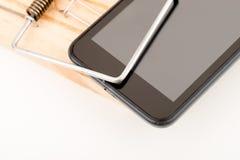 Злоупотребление телефона Стоковые Изображения RF