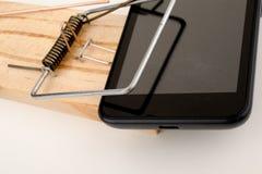 Злоупотребление телефона Стоковое Изображение RF