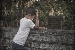 злоупотреблянный ребенок Стоковое Изображение RF
