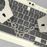 Злодеяние кибер Стоковые Фотографии RF