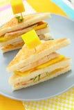 здравица сандвича Стоковые Фотографии RF