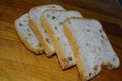 Здравица хлеба Ealnuts подробно Стоковая Фотография