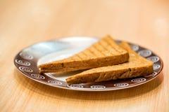 2 здравицы хлеба горячих Стоковые Фото