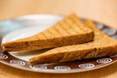 2 здравицы хлеба горячих Стоковое Изображение