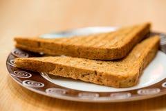 2 здравицы хлеба горячих Стоковая Фотография RF