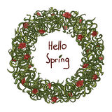 Здравствуйте! весна Стоковые Фото