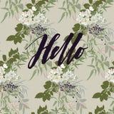 Здравствуйте! карточка бесплатная иллюстрация