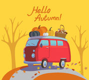 Здравствуйте! осень стоковое изображение rf
