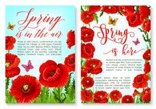 Здравствуйте! поздравительная открытка весны с рамкой цветка Стоковые Фотографии RF