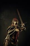 Злющий ратник Стоковое Изображение RF