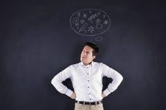 Злющий человек Стоковая Фотография RF