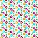 диаграмма малое смычков букетов картины цветка безшовное Стоковая Фотография RF
