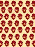 диаграмма малое смычков букетов картины цветка безшовное Стоковое Фото