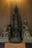 диаграмма усаживание Будды Стоковые Фото