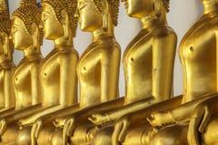 диаграмма усаживание Будды Стоковое Фото